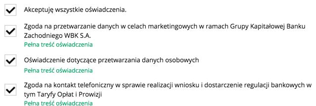 zgody BZ WBK