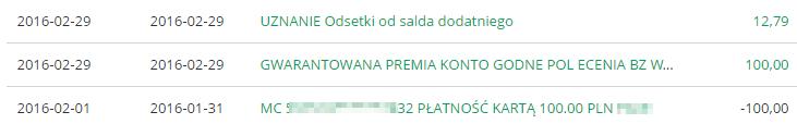 100 zl premii za Konto Jakie Chcę Bank Zachodni WBK